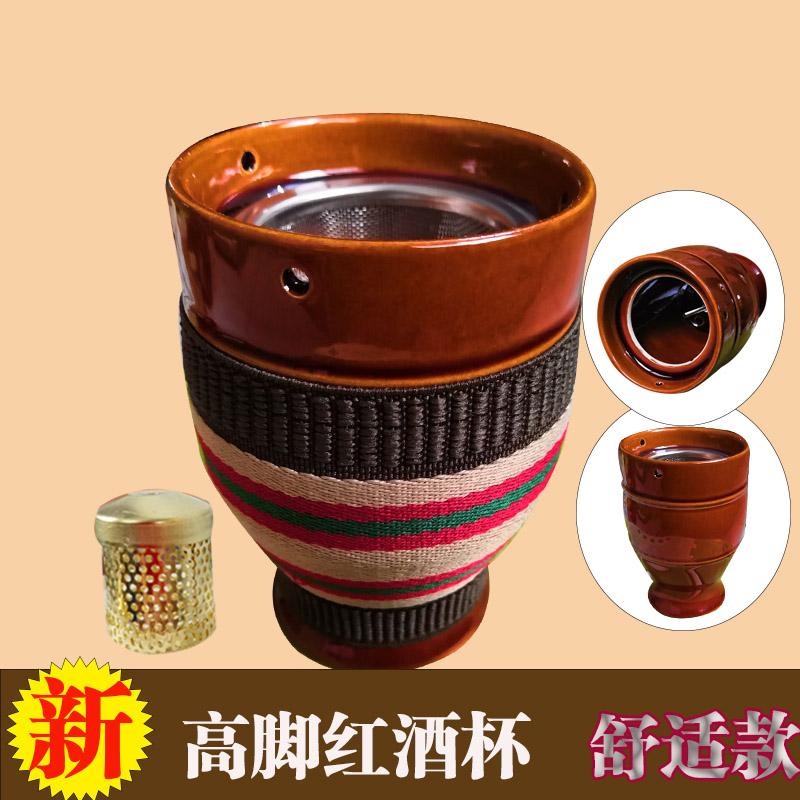 10-19新券艾灸盒仪器温灸陶瓷刮痧杯魔灸罐