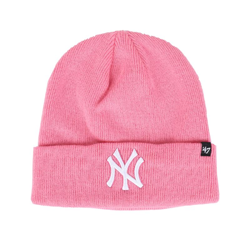市井店 MLB x 47 Brand 美潮嘻哈街舞滑板NY洋基队男女毛线帽冷帽