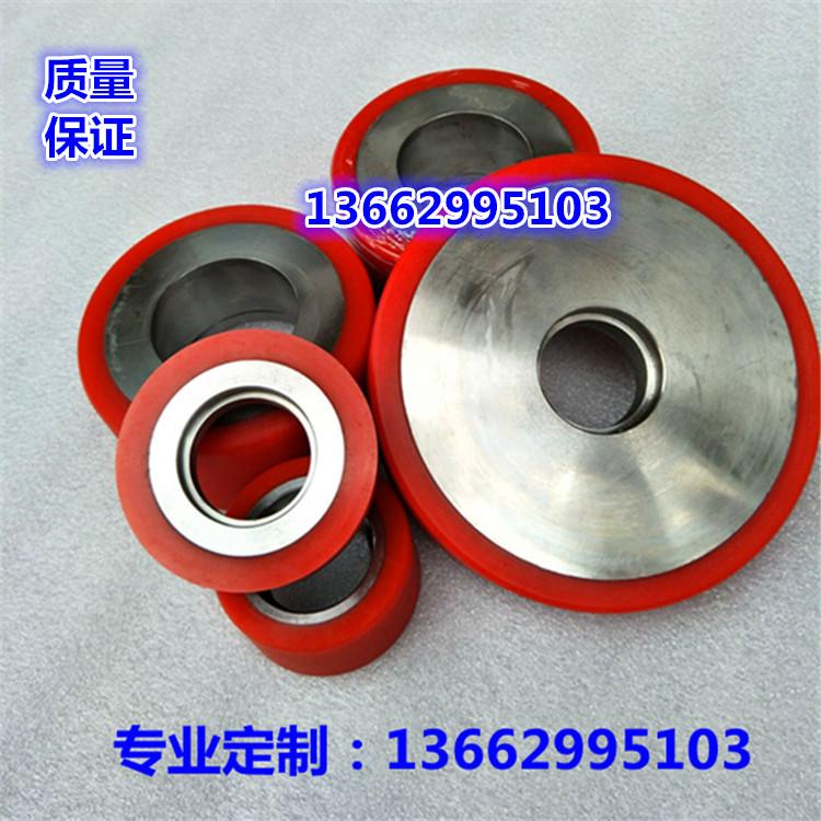 无动力滚筒包胶轮滚筒橡胶滚筒硅胶辊筒输送机滚筒聚氨酯胶辊滚轴
