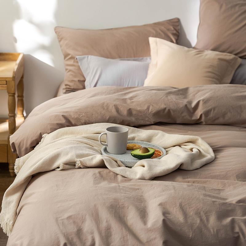 出口日本丨100%纯棉全棉春秋四件套 床上床品被套床单床笠款床品