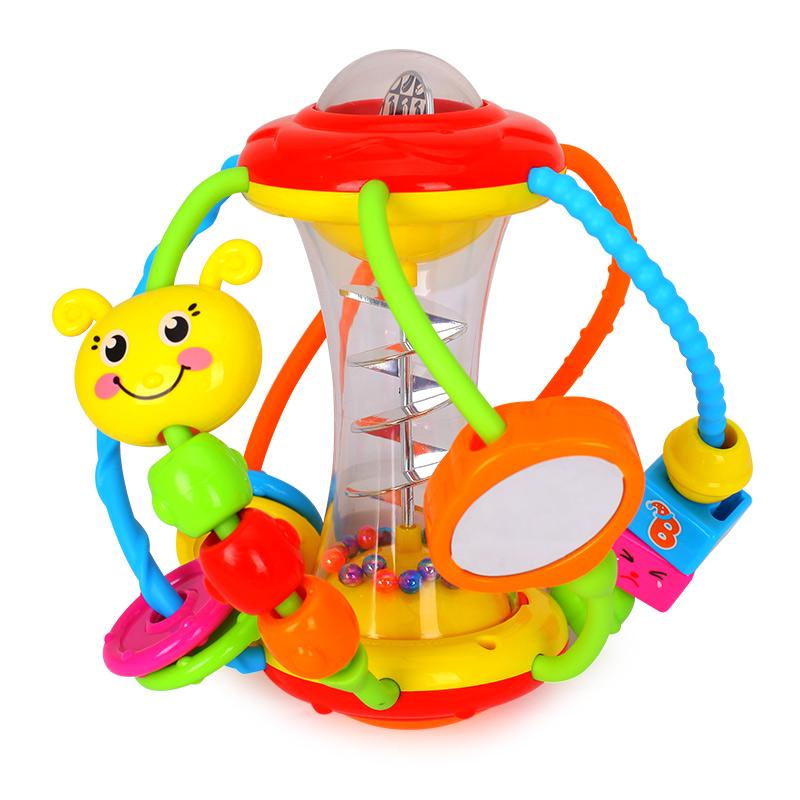 彙樂929健兒球嬰兒玩具球3~6~12個月早教益智小寶寶手抓球0~1~3歲