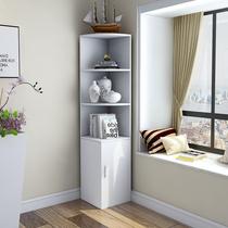 转角礼墙角礼子现代简约拐角边角三角形多功能客厅卧室角落置物架