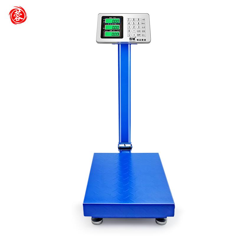 蓉城電子稱台秤計價秤100kg電子秤150kg公斤台稱300kg快遞稱重磅