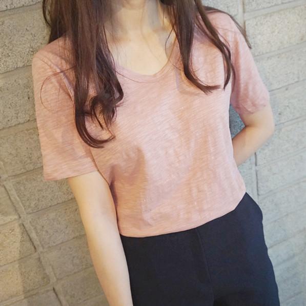 短袖纯棉T恤