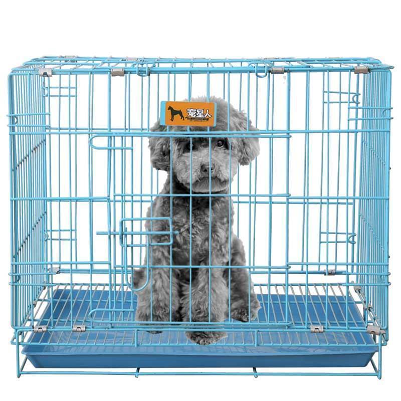 兔子笼包邮折叠亏本促销加粗狗笼猫笼泰迪比熊中小型犬鸡笼鸽子笼