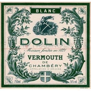 现货洋酒法国原瓶进口DOLIN BLANC VERMOUTH杜凌白味美思威末酒