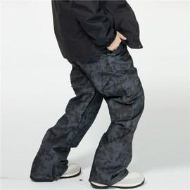 户外冬季大码男士 专业单板滑雪裤男款 正品 加厚保暖防风防水图片
