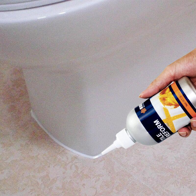 马桶安装固定密封胶防水防霉