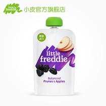 小皮欧洲原装进口苹果西梅泥100g婴儿果泥宝宝辅食泥吸吸袋水果泥