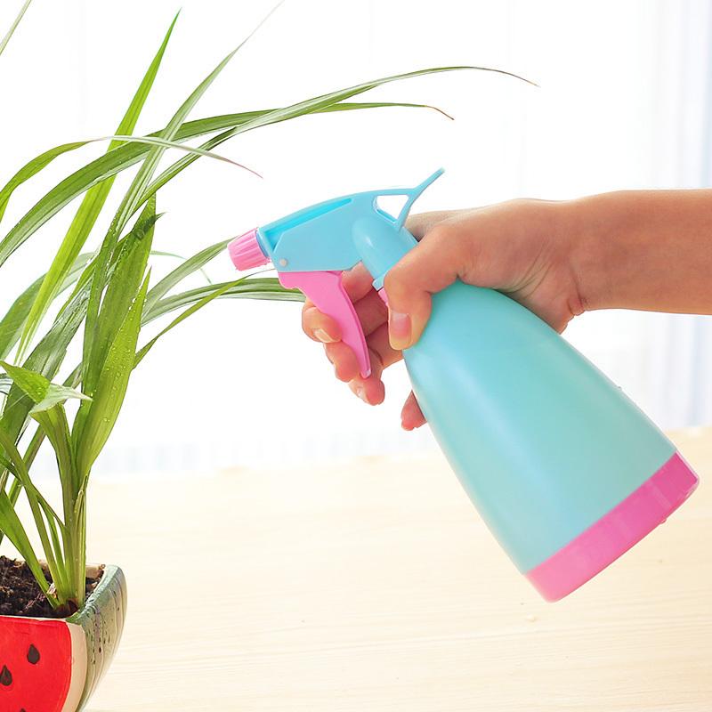 Сад искусство вручную атмосферное давление стиль спрей устройство портативный пластик спрей бутылка борьба медицина машинально вода горшок мойка лить цветок лейка