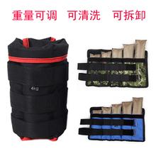 绑腿沙袋可调节男女通用跑步健身康复训练3到10公斤负重装备包邮