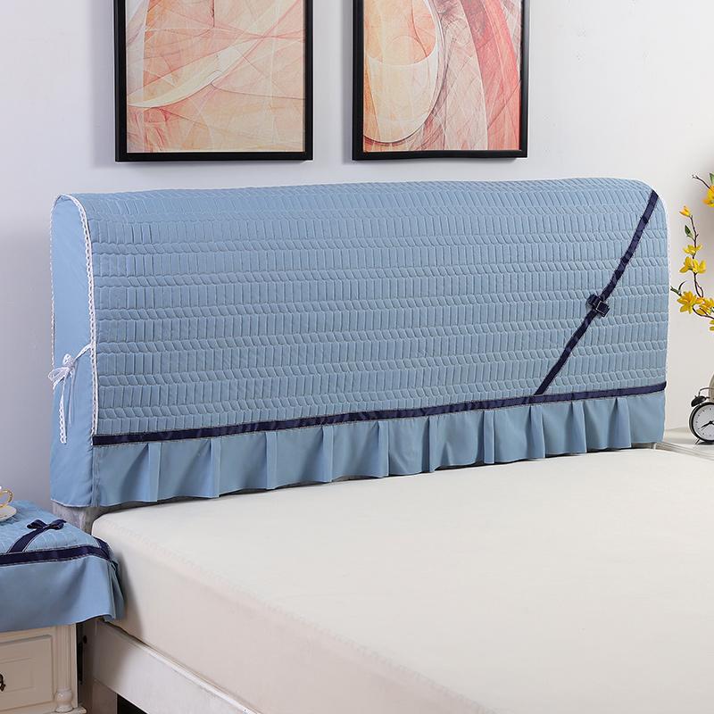 全包床头罩床头套防尘罩1.5米1.8米简约现代皮床头软包布艺保护套限4000张券