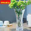 transparent Glass vase Ornament a living room flower arrangement Hydroponics flower Dried lily Northern Europe ins Lucky Bamboo vase