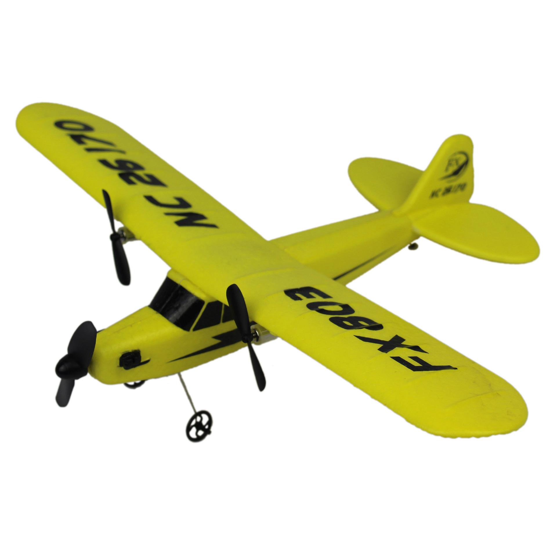 [顽潮玩具电动,亚博备用网址飞机]2.4G两通亚博备用网址滑翔机FX803泡沫月销量2件仅售98元