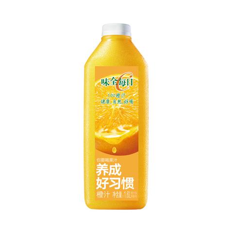 味全每日C鲜橙汁 1.6L/瓶