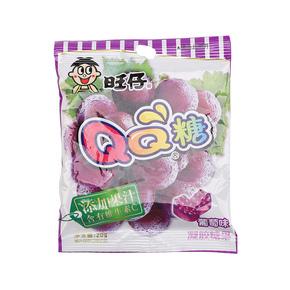 旺仔QQ糖(葡萄味) 20克/袋