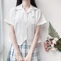 【小樱高】妙氏jk制服大码短袖衬衫