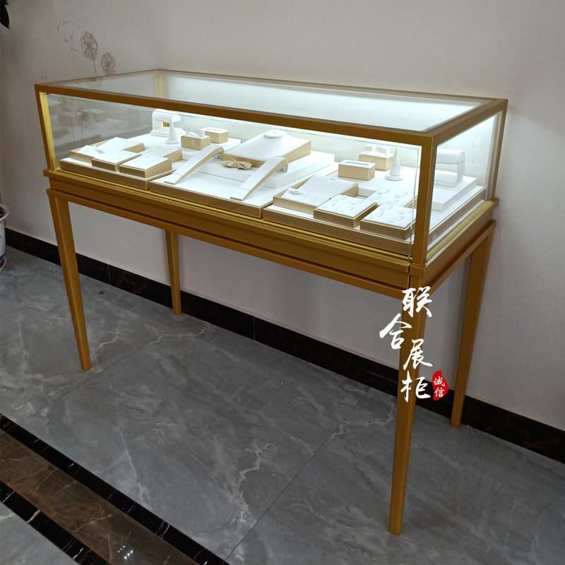 ガラスアクセサリー展示棚商用ダイヤモンド腕時計棚商品陳列棚骨董品アクセサリー展示棚