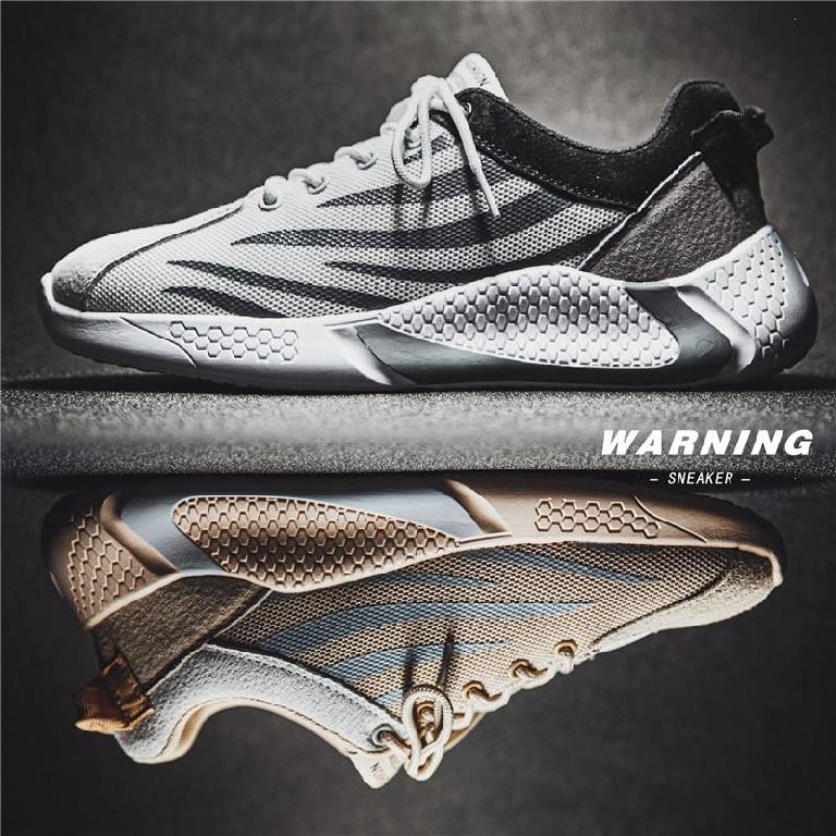 Sports shoes mens running shoes wear-resistant and antiskid running shoes low top daddys mesh shoes ultra light mesh fabric summer personality breathable soft