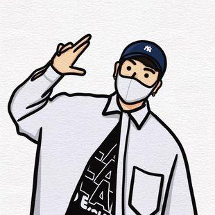 手绘头像定制INS风Q版卡通情侣插画微信约稿动漫设计真人照片漫画
