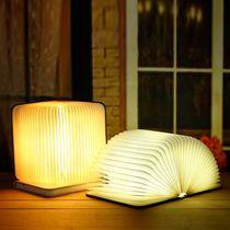 简约现代卧室床头户外手提装饰台灯德国柏曼充电小夜灯新品