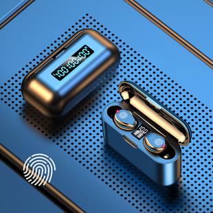 夏新真无线蓝牙耳机5.1双耳迷你隐形小型入耳式运动跑步游戏超长待机续航适用苹果X华为vivo小米oppo安卓通用品牌