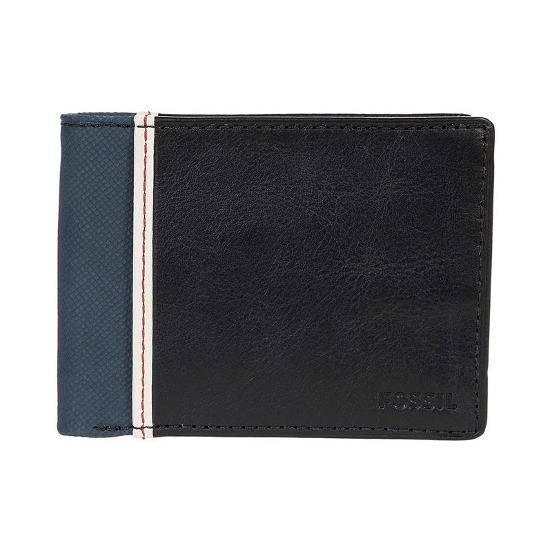 Fossil Elgin Bifold double fold leather wallet for men