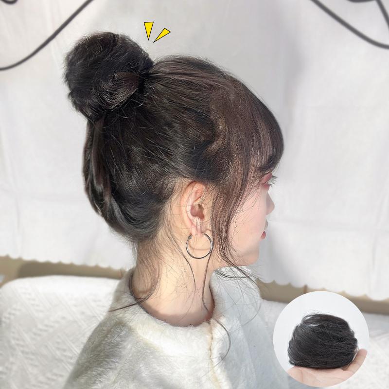 2020新款全丸子头假发女神器真发