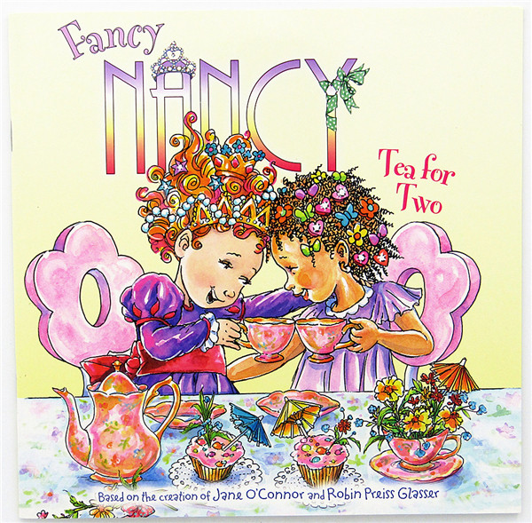 (T1)原版英文儿童绘本 Fancy Nancy: Tea for Two Paperback