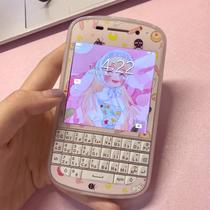 莓超疯手机Q10黑莓BlackBerry学生可爱戒网电信三网全键盘备用机