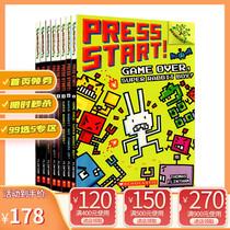 英文原版 Press Start 方块兔8册 Scholastic Branches 学乐大树系列 儿童桥梁章节书 全彩英语 5-7岁 Super Rabbit Boy