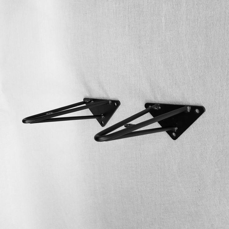 三角架支架托架墙壁上挂置物承重隔搁板直角固定层板托铁支撑架 - 封面