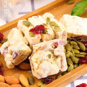 浅茶家原味雪花酥好吃的零食小吃休闲食品点心糕点手工美食沙
