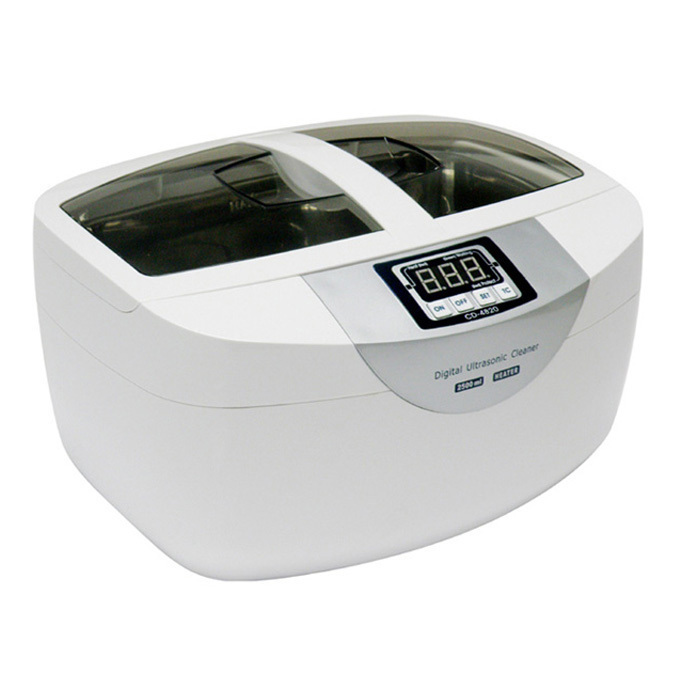 Special price high power ultrasonic cleaning machine cd-4820 eyeglass ink head denture tool parts cleaning