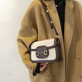 法国小众包包2020新款潮韩版时尚女包小方包高级感百搭单肩斜挎包