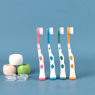 8支装卡通儿童牙刷超细软毛2-3-4-5-6岁小孩幼儿学生小头宝宝清洁