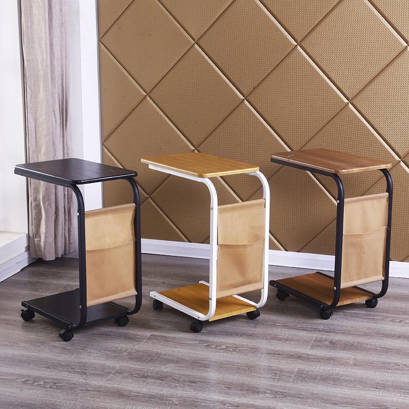 家用沙發邊桌電腦桌懶人床上桌可移動茶几便攜邊幾角幾移動小茶桌