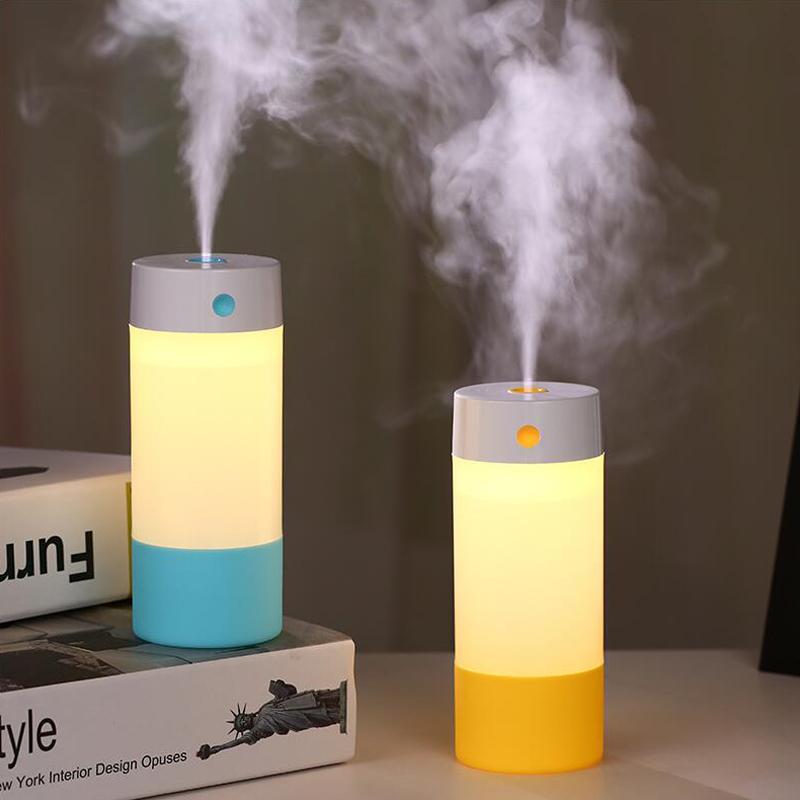 迷你USB空气保湿美容加湿器宿舍办公桌面静音车载香薰纳米喷雾器