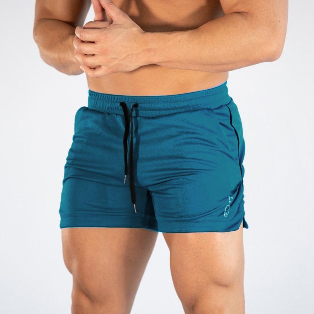2019新款肌肉兄弟新款运动短裤男士户外跑步健身速干沙滩三分裤子