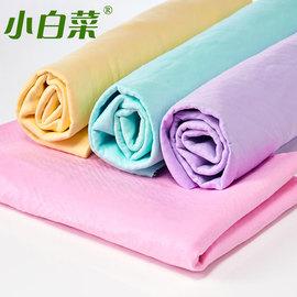 小白菜麂皮巾合成鹿皮巾干发吸水毛巾洗车毛巾擦车巾车用鹿皮毛巾图片