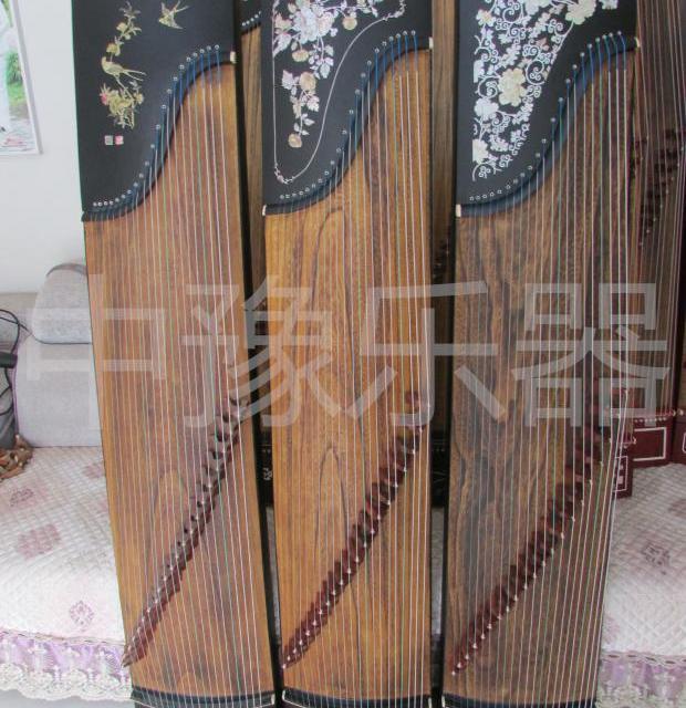 限时秒杀厂家直销黑檀木刻字古筝演奏教学练习古筝163型专业10级