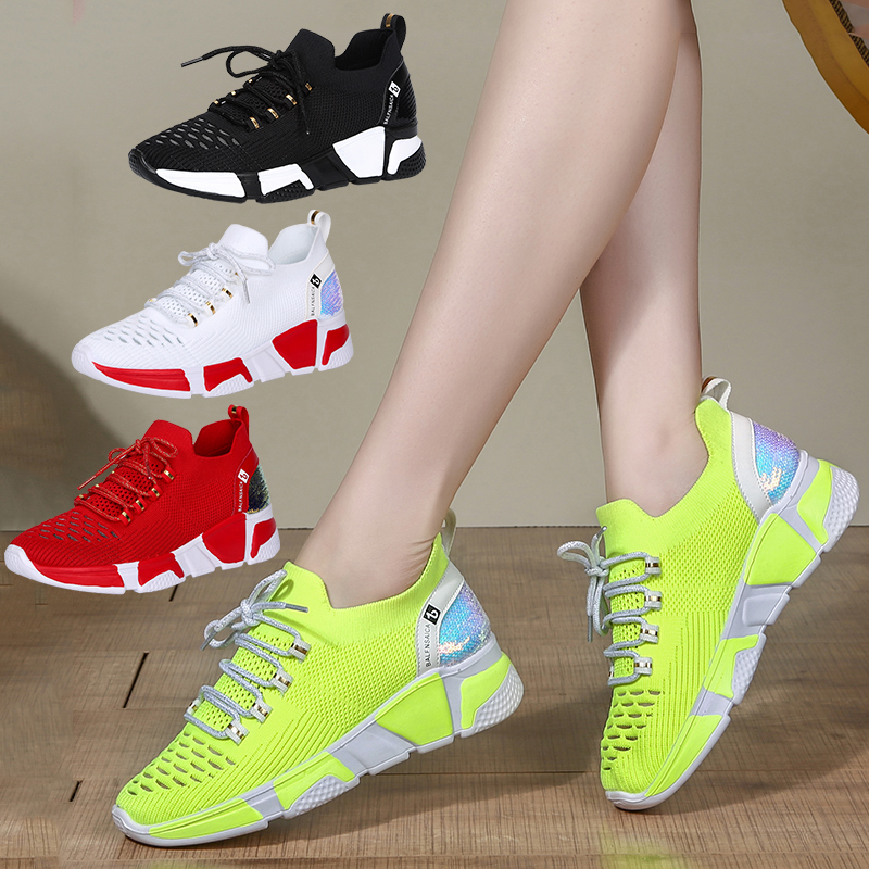 Dance shoes womens soft soled square dance shoes fashion wear spring and summer new shuffle dance sports ghost step dance shoes