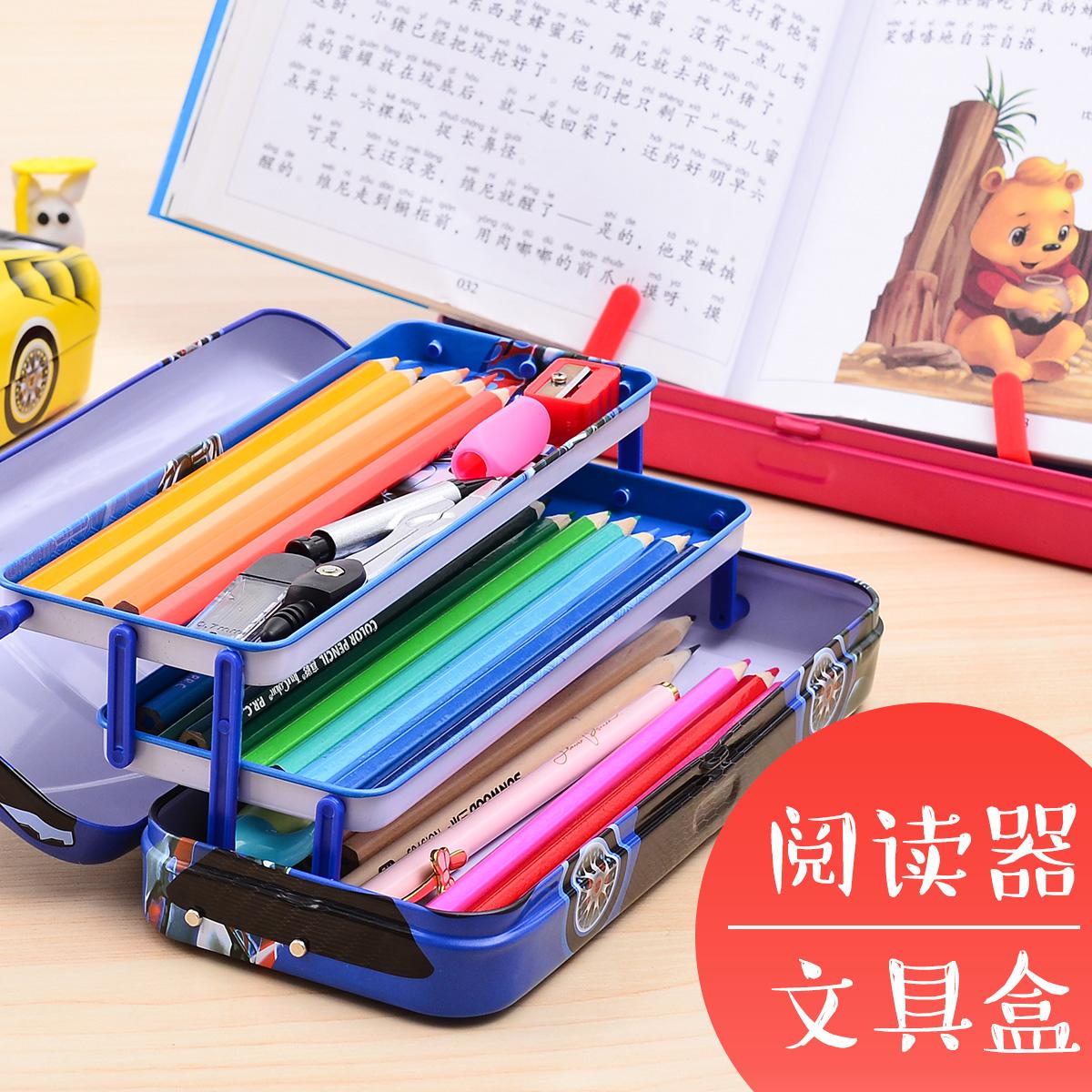 迪士尼变形金刚男小学生可爱文具盒10月18日最新优惠