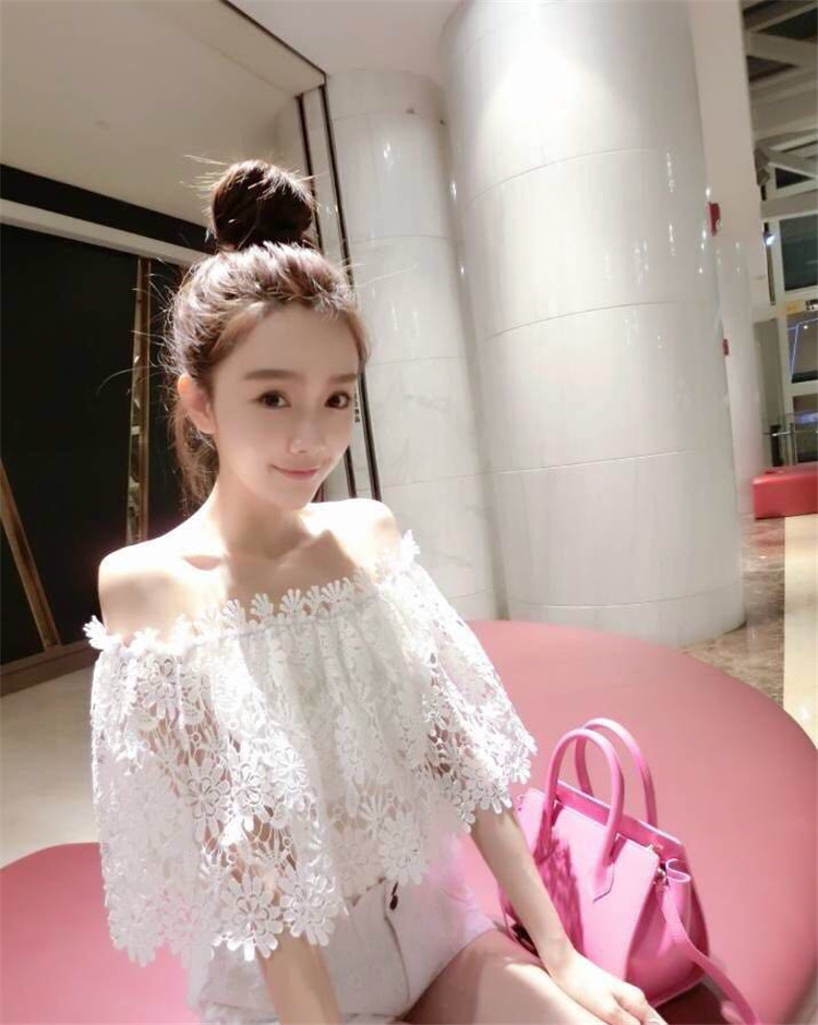 韩版上衣女装夏装