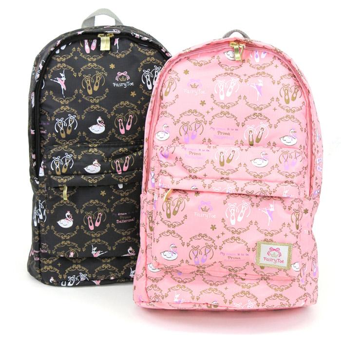 Japanese authentic fairytoe ballet design large capacity lightweight backpack backpack Ballet Bag fitness bag