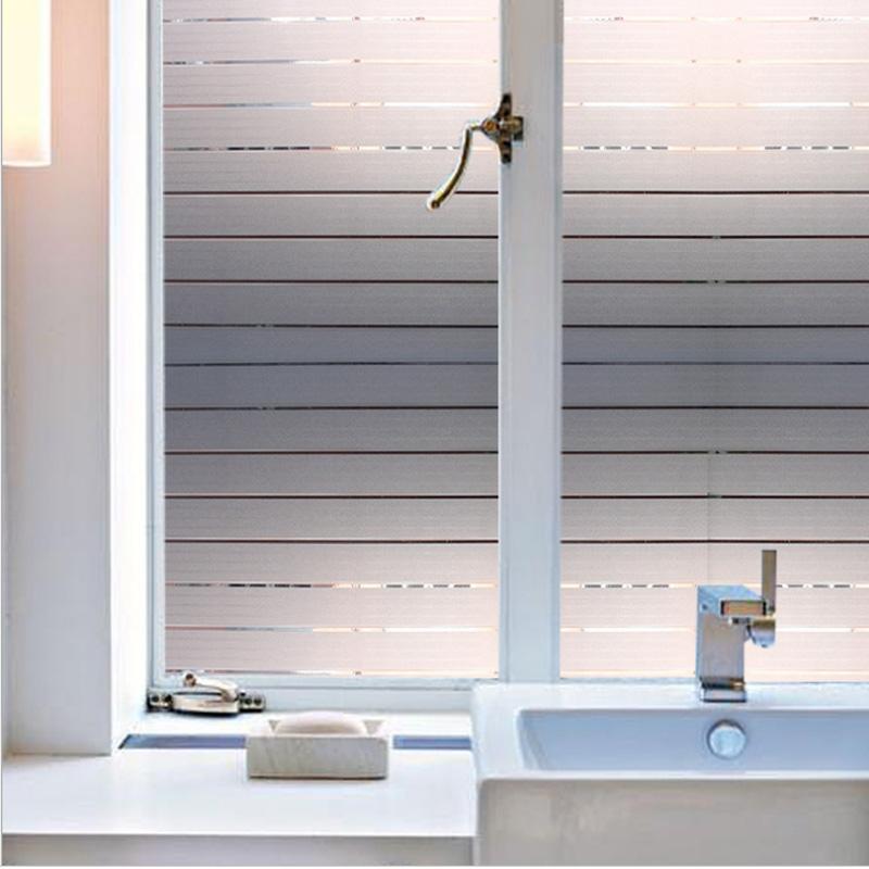 厨房玻璃贴膜磨砂透光不透明3D立体静电免胶窗户卫生间隐私贴纸