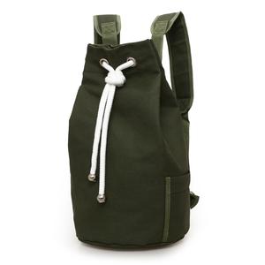 2021新款潮帆布包男包水桶包双肩包运动大容量健身包水桶篮球包
