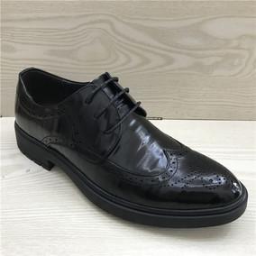 断码鞋特价男鞋 真皮头层牛皮高档皮鞋布洛克青年帅气男单鞋潮190