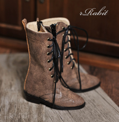 taobao agent [Spot] BJD doll leisurely women's shoes Oxford withered boots 3 points SD10SD16DD retro style BLS005