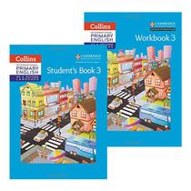 英文原版 英国国际学校小学三年级英语教材练习册2册 Collins Primary English Student's Book Workbook Stage3 剑桥小学英语用书